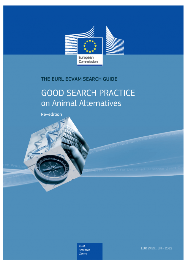 Cover of the EURL ECVAM search guide